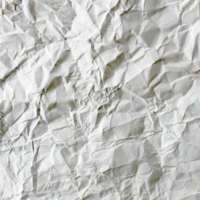 crumpled piece of paper